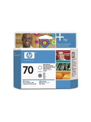Μελάνι Εκτυπωτή Ink HP No 70 Printhead Gloos Enhancer and Grey