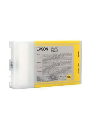 Ink Epson T6034 C13T603400 Yellow High Capacity - 220ml